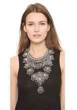 2015 Fashion Big Brand Z Necklaces vintage Necklaces & Pendants Romantic choker Necklaces statement Necklaces jewelry women