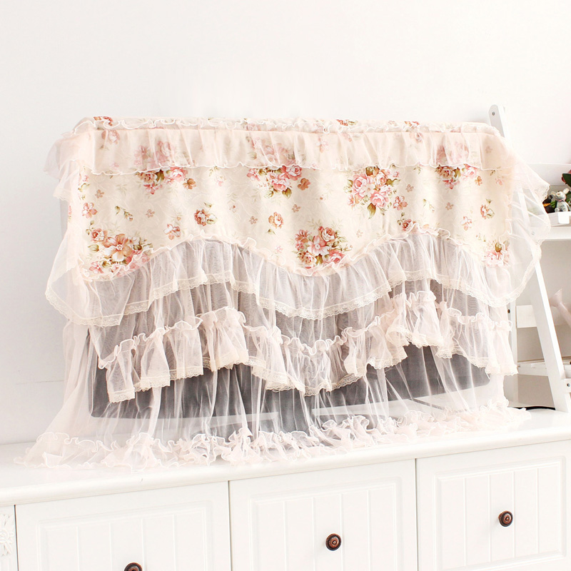 2015 new lace fabric TV cover LCD TV Dust TV cover-in Other Home Textile from Home &amp(China (Mainland))