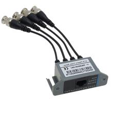 New Hotsale Best Price In Aliexpress promotion New CCTV 4 Channel Passive UTP Transmitter Video Balun BNC Male to UTP RJ45 CAT5