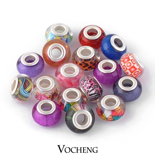 (100PCS/lot) Wholesale Cheap Lampwork Murano Glass Beads Fit DIY Bracelets Jewelry Mixed Beads in Bulk (Vn-512) Free Shipping(China (Mainland))