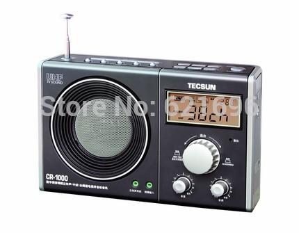 Tecsun CR 1000 digital tuner FM stereo AM TV audio radio