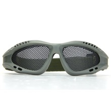 New Hotsale Best Price In Aliexpress promotion Airsoft Hunting Sand Metal Mesh Goggles Glasses Army Green
