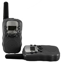 T-388 2 Stücke Dual einstellbare 2-Way Radio Wireless-Reisen Walkie Talkie tragbare mini drahtlose LCD 3 KM UHF Auto Auto VOX Multi Kanäle(China (Mainland))