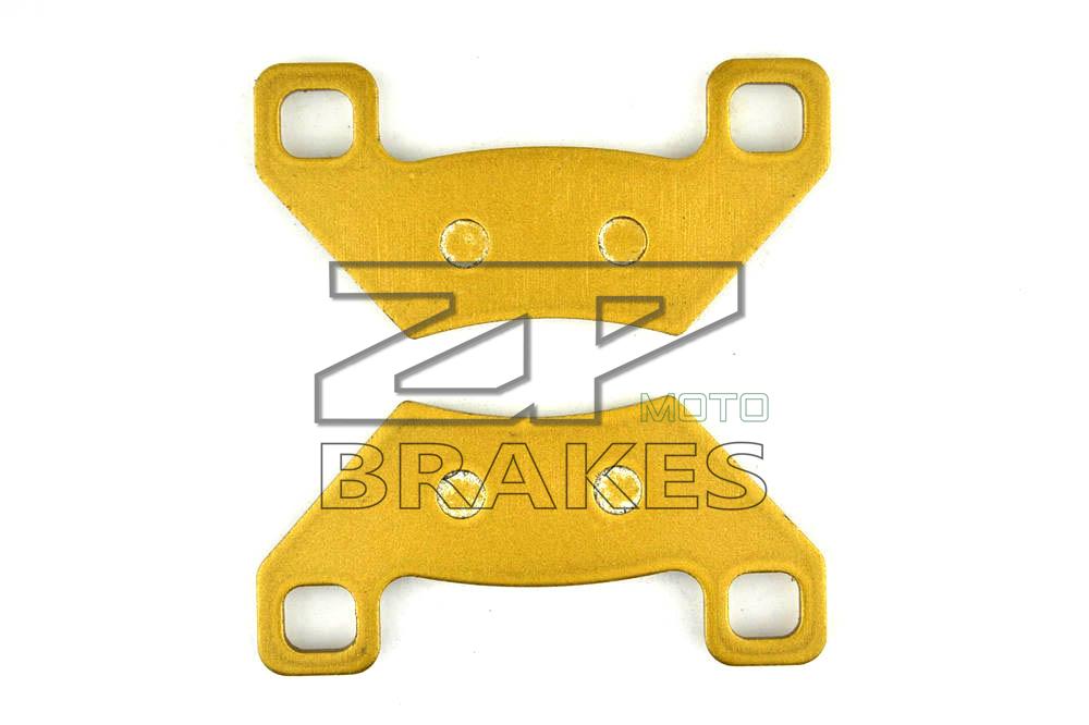 Brake Pads Organic Front & Rear For ARCTIC CAT ATV 1000 XT 2013-2014 TRV 1000 LTD (2-UP) 2013-2014 OEM New ZPMOT(China (Mainland))