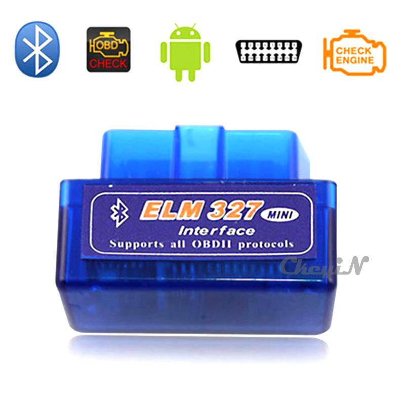 Super Mini V1.5 elm327 OBD2 auto motor vehicle Car Scanner Bluetooth ELM 327 ferramenta de verificação de diagnóstico ZDQ002B-Z32(China (Mainland))
