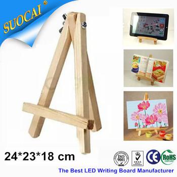 24 * 23 см 5 шт./лот принадлежности для рисования дерево штатив станковой для Paniting и эскиз Artisrt стенд оптовая продажа