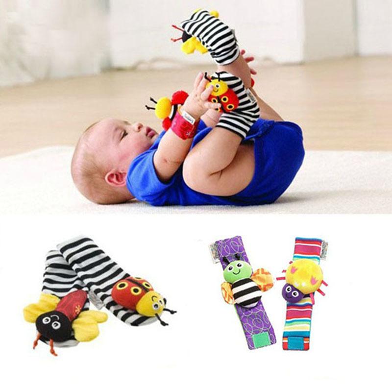 2015 hete verkoop baby baby speelgoed horloges voet sokken rammelaars speelgoed leuke bug - Baby voet verkoop ...