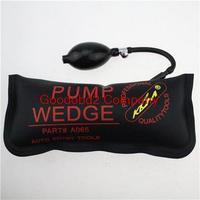2015 Hot seeling  KLOM  PUMP WEDGE LOCKSMITH TOOLS Auto Air Wedge Lock Pick Open Car Door Lock Black Big Size 28*12 CM