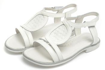 Фламинго дети обувь высокое качество натуральная кожа сандалии QS4743