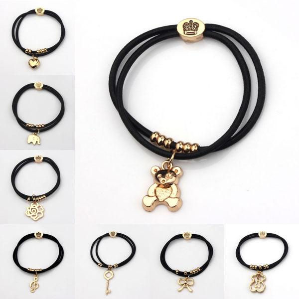 Elephant Hair Bracelet With Gold For Men Elephant Hair Bracelets