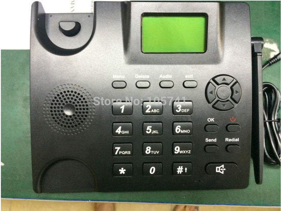 10pcs/lots landline phone with sim card slot gsm mobile desk phone 6188(China (Mainland))