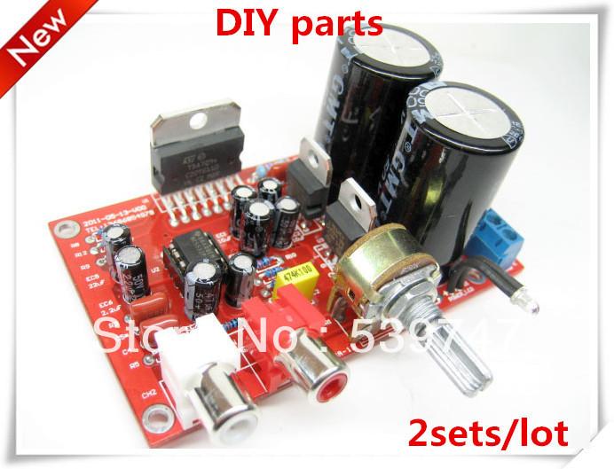 2 set/lote com acesso fixo à pilares TDA7294 subwooferamplifier kit 100W * 1 Mono Audio Power Amplifier Board(China (Mainland))