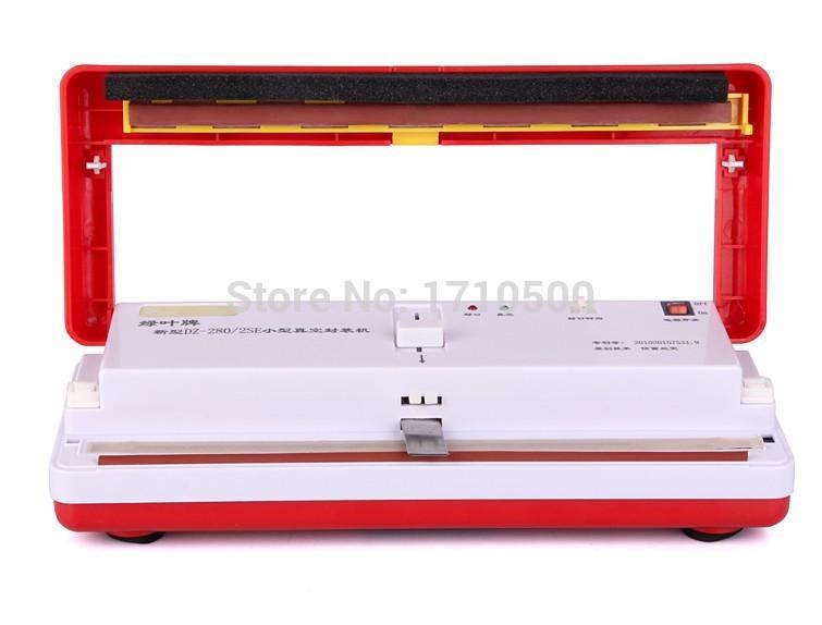 DZ280 Household Vacuum palstic bag sealing sealer machine for food(China (Mainland))