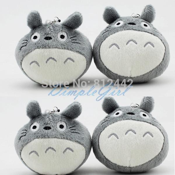 8PCS Kawaii Cute Mini Doll Studio Ghibli My Neighbor Totoro Plush Toy Soft Japanese Stuffed Animal For Kid Birthday Gift Party(China (Mainland))