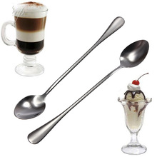 Brand New High Quality 6 pcs Stainless Steel Ice Cream Coffee Cocktail Teaspoons Soup Tea Spoons