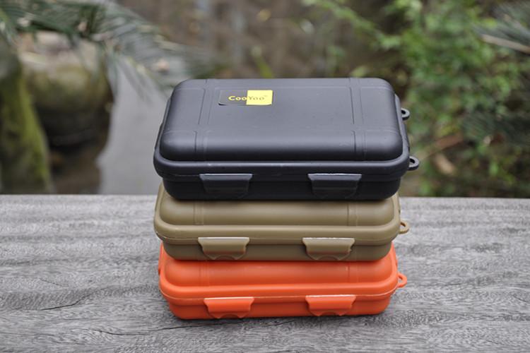 Бокс для хранения Supervivencia sobrevivencia 11.5 * 6 * 3,5 EDC acampamento viaje бокс для хранения вещей kiss the plastic industry