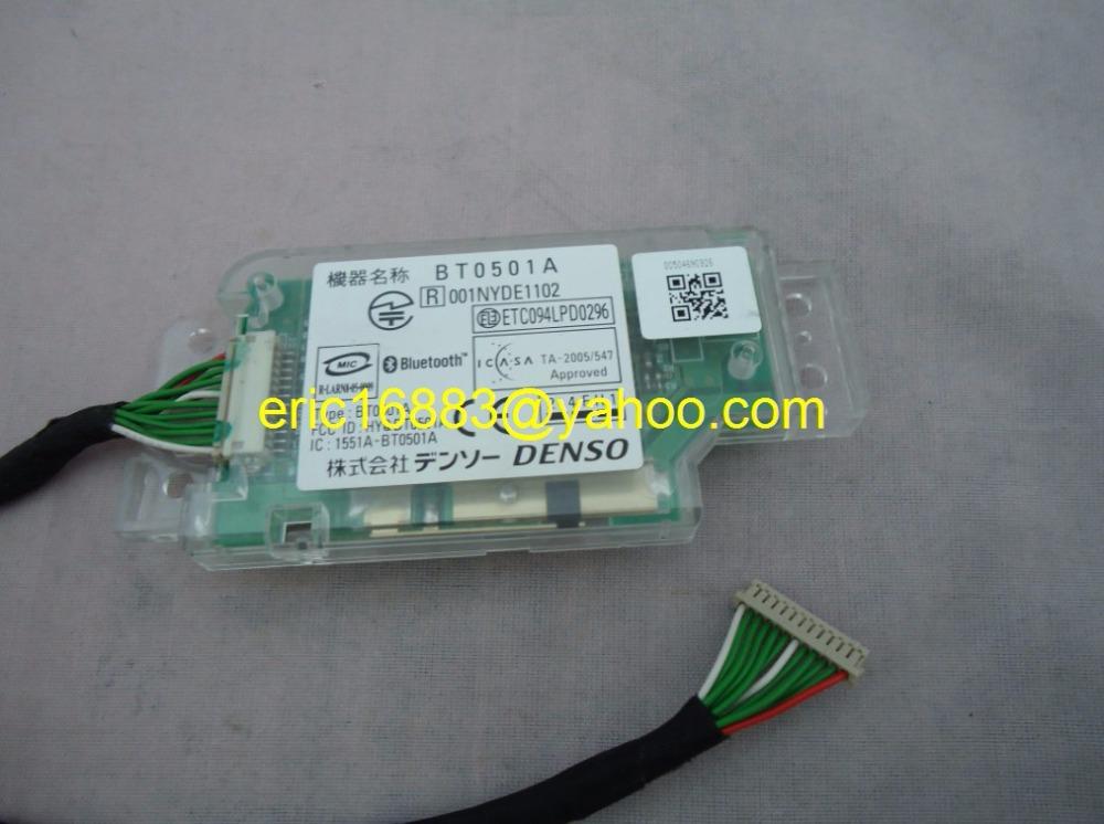Original bluetooth module BT0501A for TOYOTA 86111-53040 DISPLAY 12V DENSO FOR LEXUS CAR NAVIGATION FUJITSU TEN 86114-53010(China (Mainland))