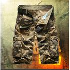 Big Size 29-42 Army Green Military Outdoor Sport mma shorts men Casual Cotton loose Short Cargo Khaki A1208