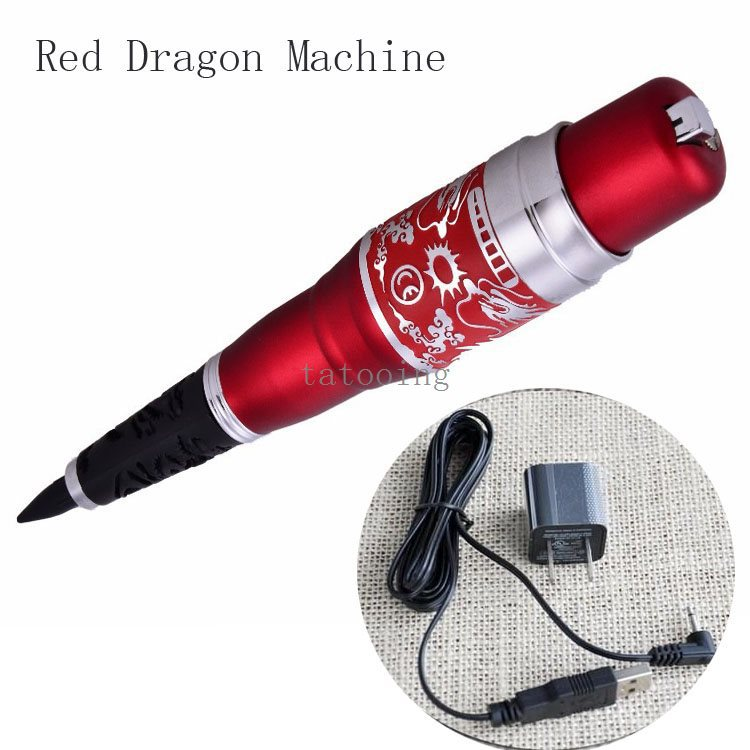 Biotouch Red Dragon Permanent Makeup Machine Eyebrow Eyeliner Lip Cosmetic Tattoo Kit Permanent Makeup Machine(China (Mainland))