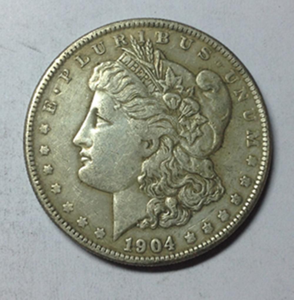 1904 MORGAN SILVER DOLLAR COPY COIN(China (Mainland))