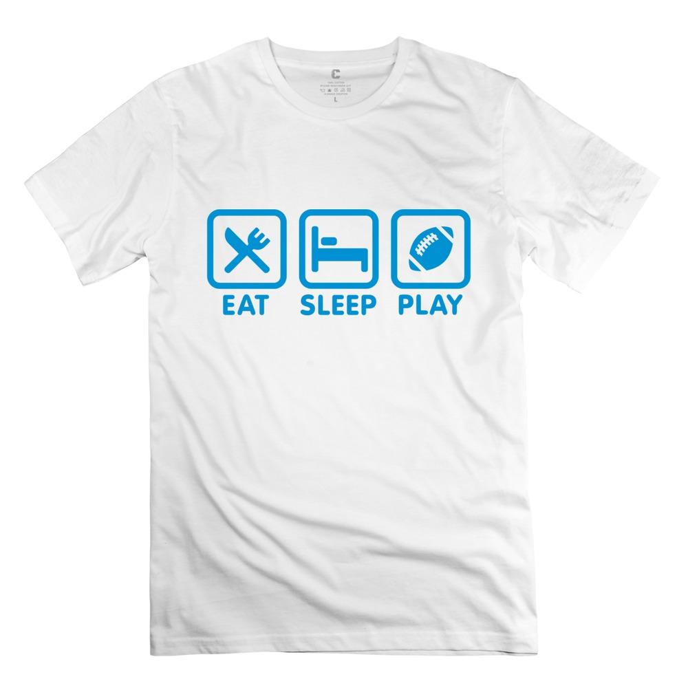 Football Sleeve For Plays Eat Sleep Play Football