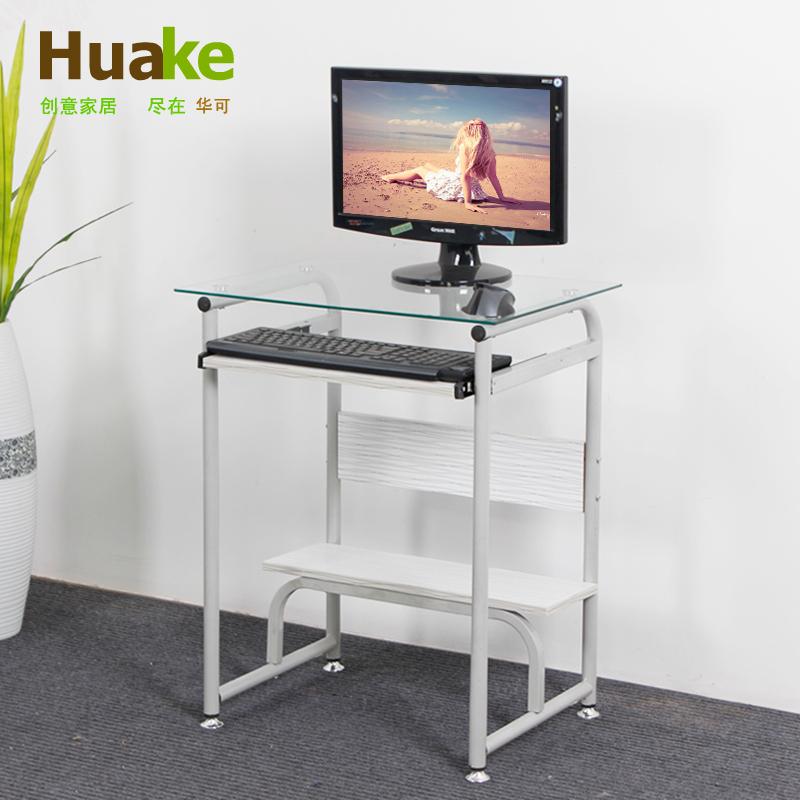Verre bureau d 39 ordinateur portable achetez des lots - Petit bureau pour ordinateur portable ...