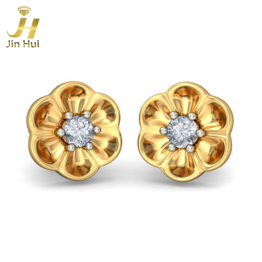 Jinhui 18K 750 0,05 CT JH-BS4075 jinhui dhwani 18k 750 0 08 jh bs4576