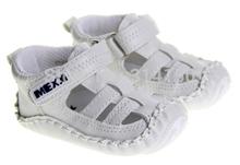 Scarpe bambino bianco genuino scarpe in pelle bambino neonate/ragazzi di estate prewalker primi camminatori antiscivolo soft sole spedizione gratuita  (China (Mainland))