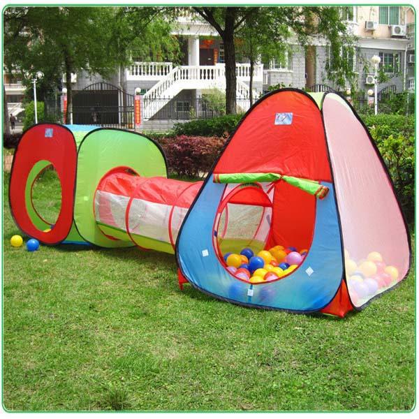 Ultralarge 240 cm túnel design crianças crianças tenda do bebê Toy Play Game(China (Mainland))