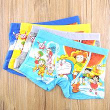 Doraemon printing antibacterial air permeability and moisture absorption children underwear manufacturers direct price(China (Mainland))