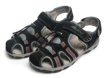 Фламинго дети обувь высокое качество сандалии из натуральной кожи HS1122