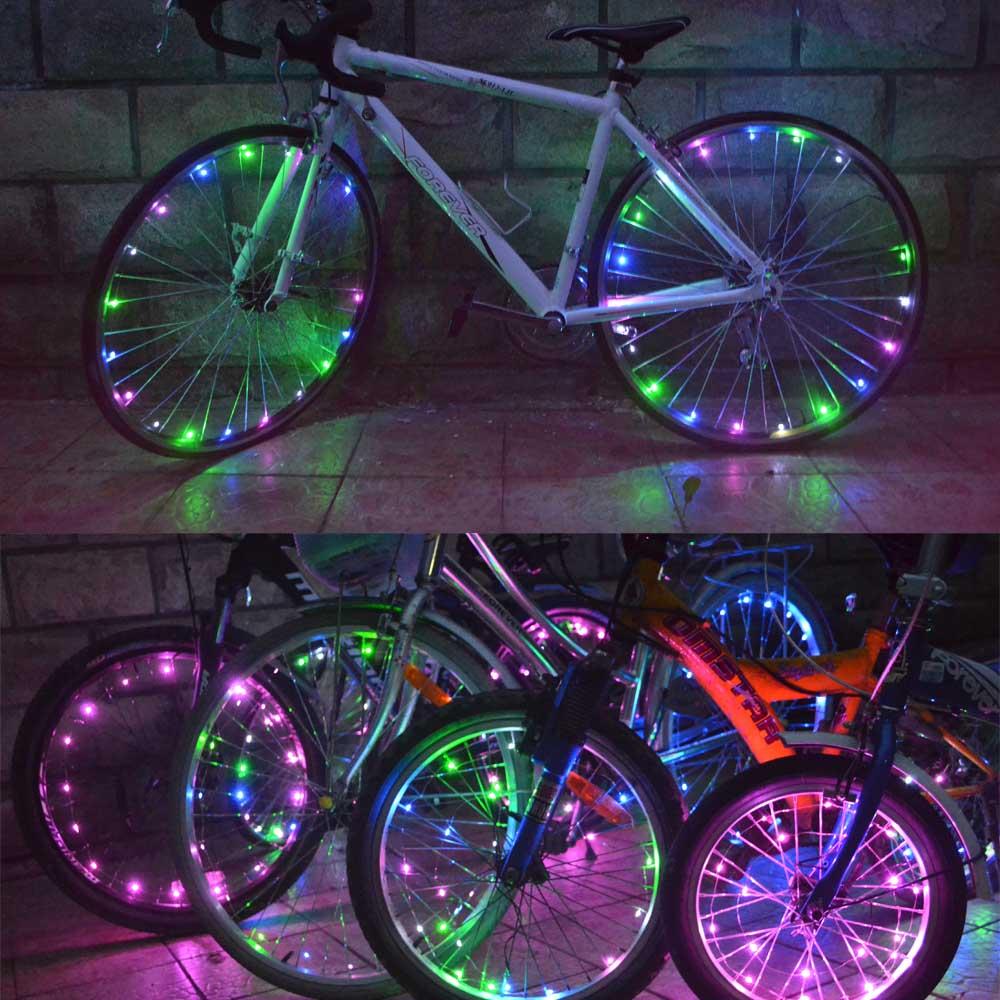 Фара для велосипеда OEM 30 Bicicleta Spoke Light