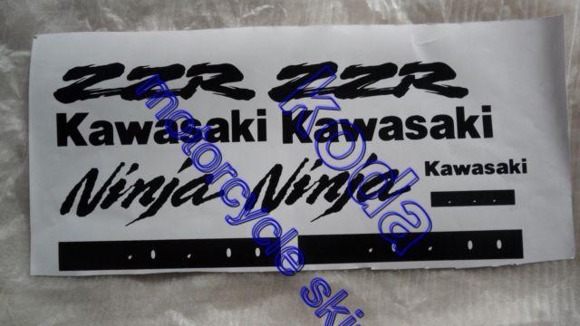 Livraison gratuite! Moto stickers autocollants pour KAWASAKI zzr250 ZZR400 ZZR600 ZZR1100 ZZR1200 un ensemble(China (Mainland))