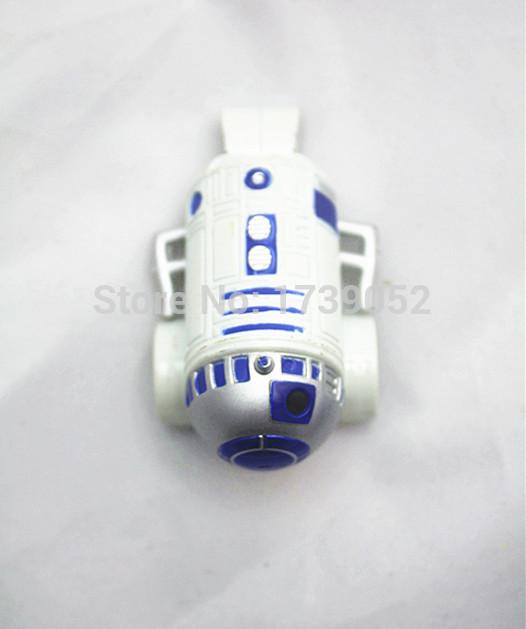 1/55 Metal Diecast Pixar Cars Star Wars R2-D2 Toy Car Loose Free Shipping(China (Mainland))