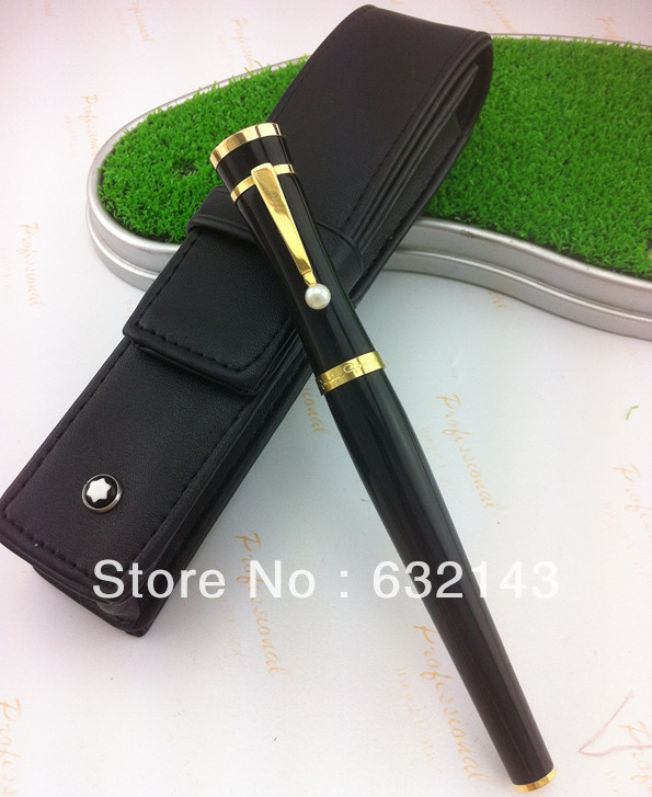 2015 New Arrival Promotion Metal Parker Pen Plumas Caneta Ball Pen Brightness Ladies Classic Fountain +black Bag. Free Shipping(China (Mainland))