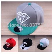 New Baby Boys Girls Snapback Hat Caps Baseball Cap Kids Children Diamond Print Hats Beanies 3-12 Years 18 Colors(China (Mainland))