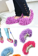 New 2015 New 1Pcs Dust Mop Slipper Lazy Quick House Floor Polishing Cleaning Socks(China (Mainland))