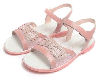 Фламинго дети обувь высокое качество натуральная кожа сандалии QS4741