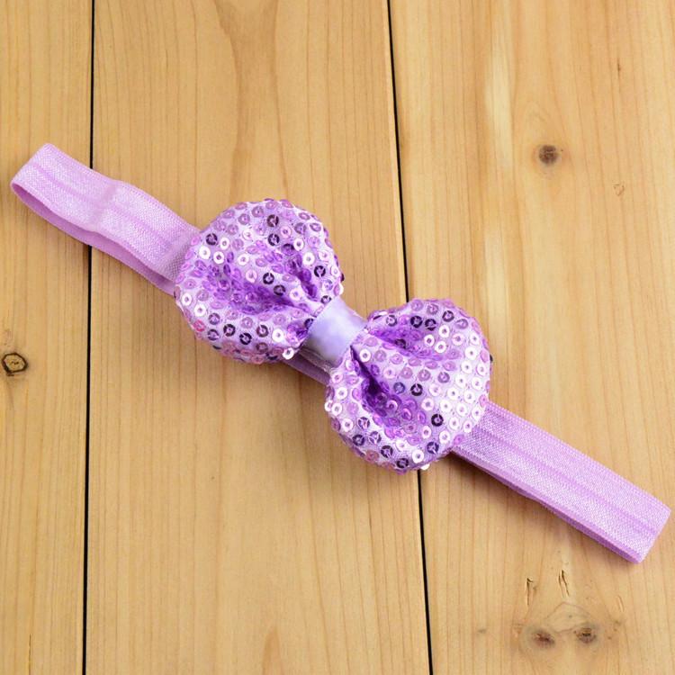 Hair Bow Headbands Baby Bow Headband Shabby Chic Vintage Fabric Bow Baby Headband 21 Colors(China (Mainland))