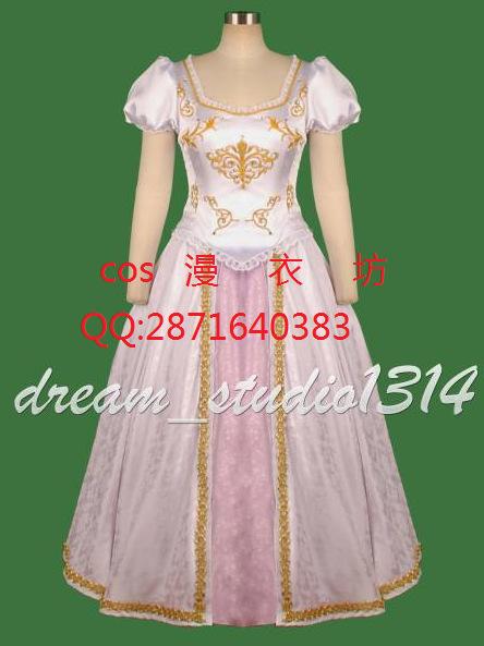 Tangled Wedding Dress Costume Wedding Dress Costume