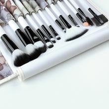 Professional 12 pcs pincel maquiagem New Makeup Brush Cosmetic Make Up brushes Set With Rose Floral Case Bag Kit