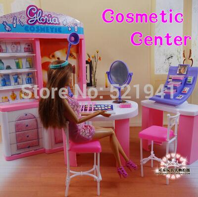 Barbie makeup toys promotion shop for promotional barbie for Accessoire maison barbie