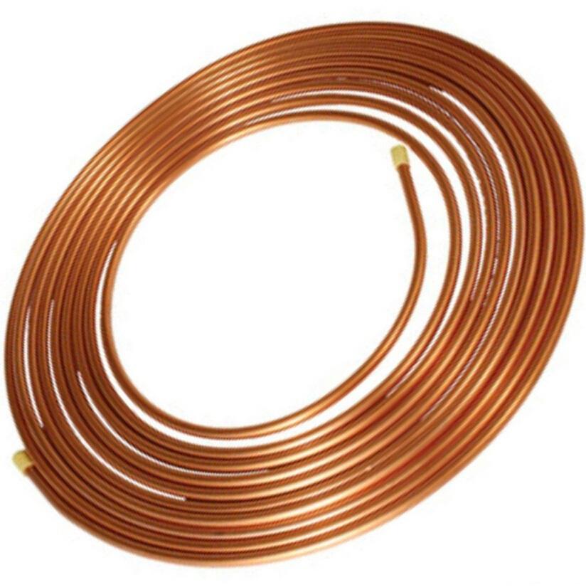 10X1mm Copper tube/hose/soft copper pipe/pure copper pipe/tube/coil/air conditioner hardware(China (Mainland))