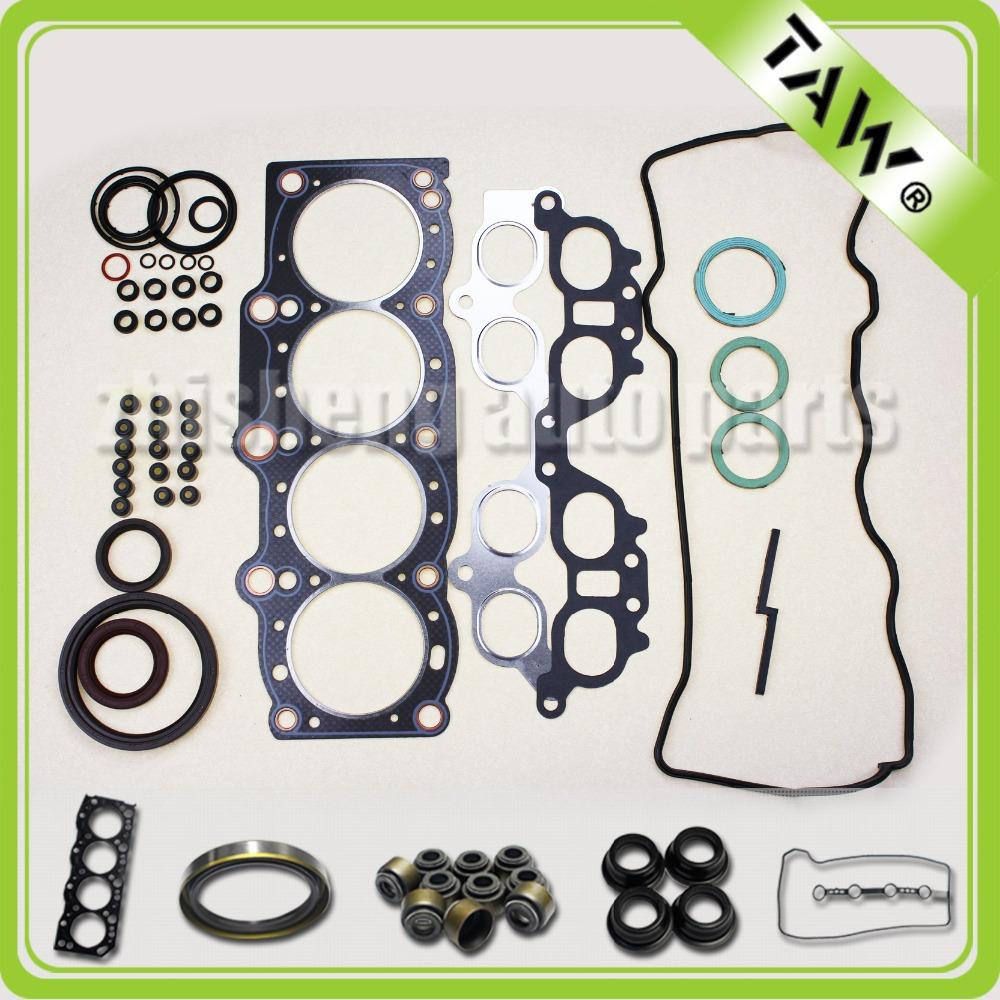 Automotive revisão de motores junta motor de ajuste para TOYOTA 3SFE 2.0L 04111-74191(China (Mainland))