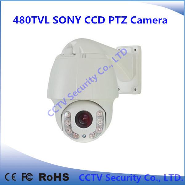 10X 480tvl Security equipment high speed dome Camera PTZ camera free shipping(China (Mainland))
