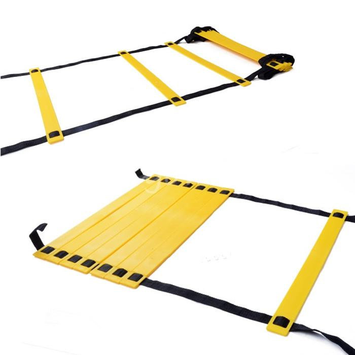 New Arrival And Durable Flat 8-Rung 4M Agility Ladder for Speed Soccer Football Fitness Feet Training(China (Mainland))