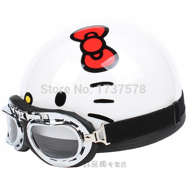 Hello Kitty Motorcycle Helmet For Adults Hello Kitty White Helmet