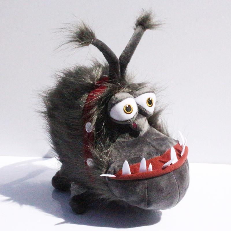 Despicable 2 Kyle Plush Minions Gray Gru's dog Stuffed Doll toys High Quality Plush Dog Toy 30cm Free Shipping(China (Mainland))