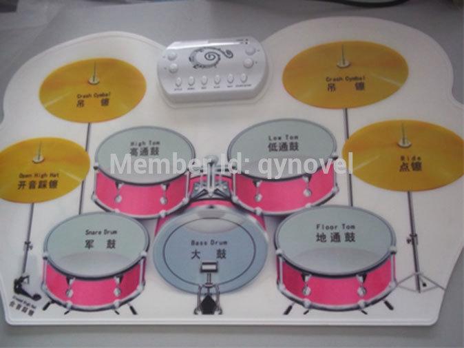 USB roll-up digital drum pad kit, electronic drum kit(China (Mainland))