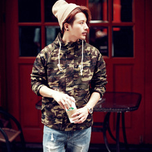 2015 New Camo Jacket Men Autumn and Winter Ourtdoor Army Camouflage Hooded Jacket Men Fashion High Quality Free Shipping(China (Mainland))